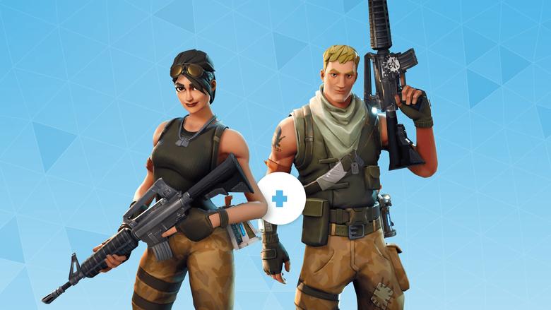 I think my duo wants my sniper FortNiteBR