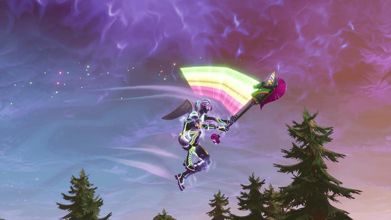 Nice Screenshot of Nitelite Rainbow Smash FortNiteBR