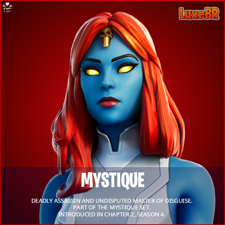 Mystique Fortnite wallpapers