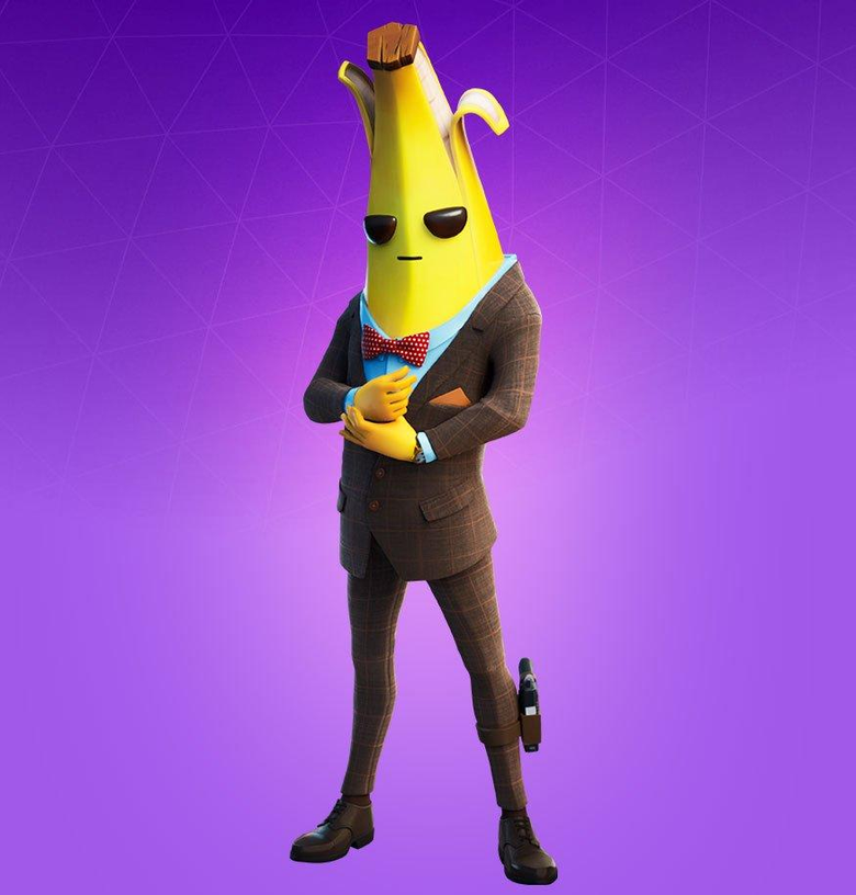 Agent Peely Fortnite wallpapers