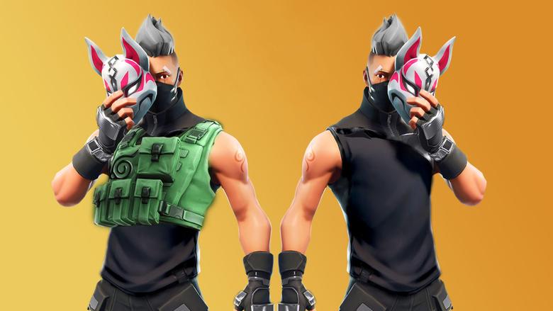 Kitsune Mask Fortnite Battle Royale Drift Wallpapers and