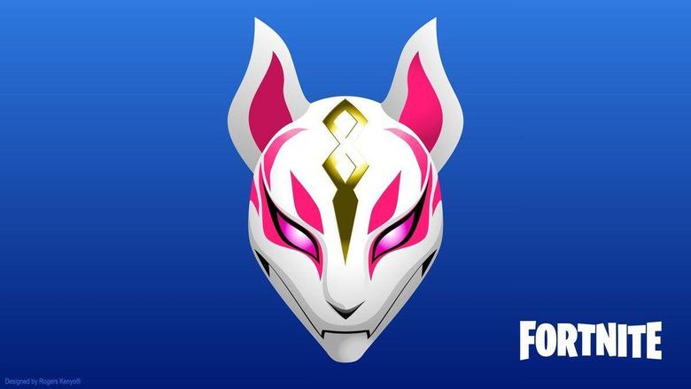 FORTNITE Drift s Mask 4K Wallpapers Vector Designed by rogerskenyo on