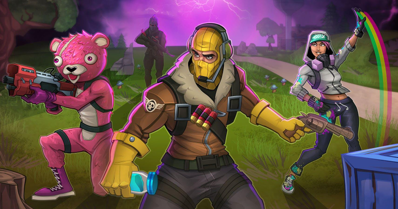 Epic Fortnite Fan Pictures That Are Ready For Battle Royale