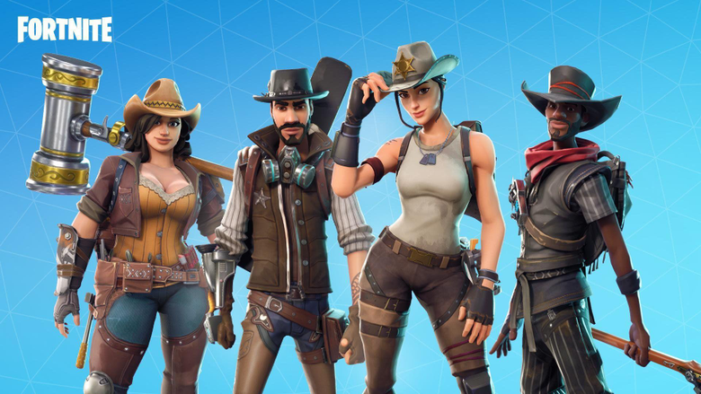 Wild West Heroes Road Trip Event Fortnite Season 5 Wallpapers for