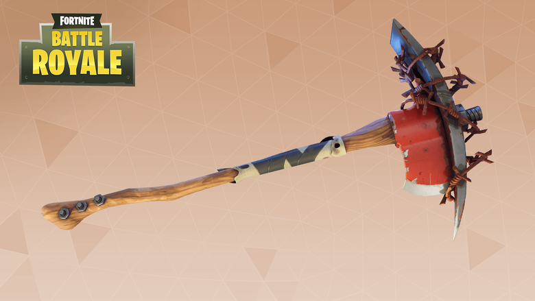 Raider s Revenge Fortnite Pickaxe