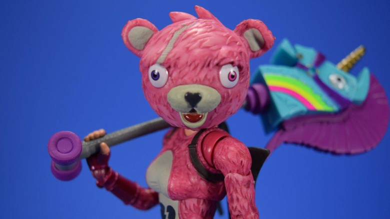McFarlane Toys Fortnite Cuddle Team Leader Video Review and Quick