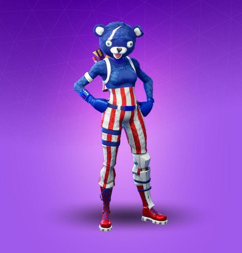 Fortnite Fireworks Team Leader Skin