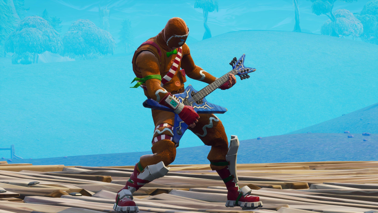 Merry Marauder Rock Out Fortnite Battle Royale Video Game
