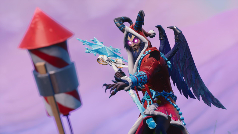 Fortnite Week 4 Challenges Launch Fireworks at 3 Locations