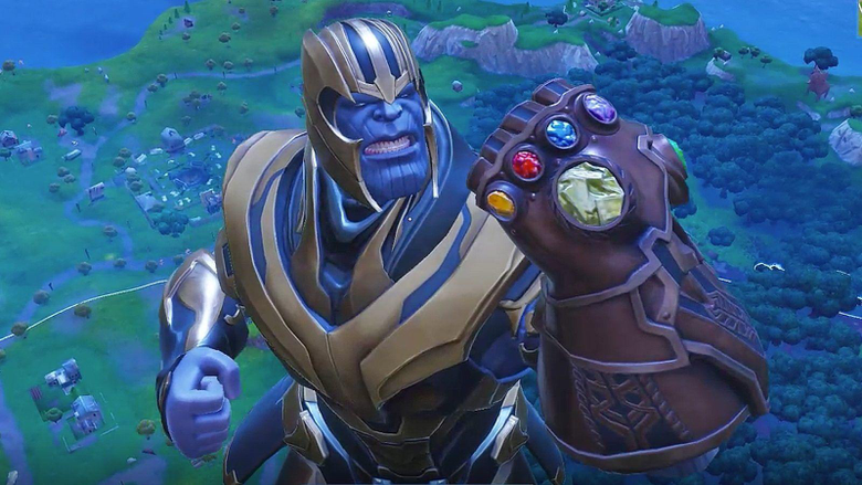 The First Videos of Thanos in Fortnite Don t Disappoint with High