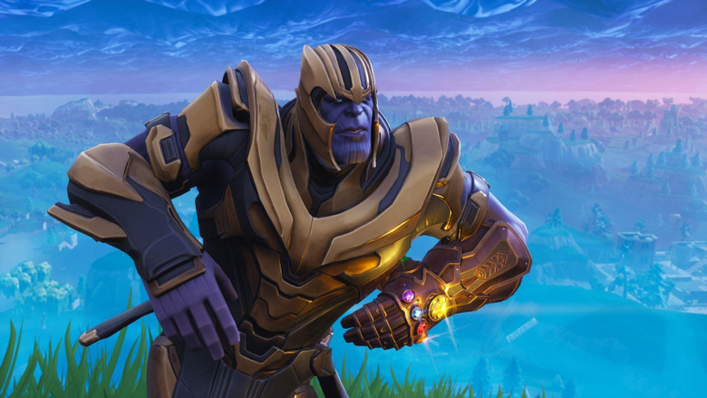 Dancing and Dabbing Thanos Gets Groovy in Fortnite