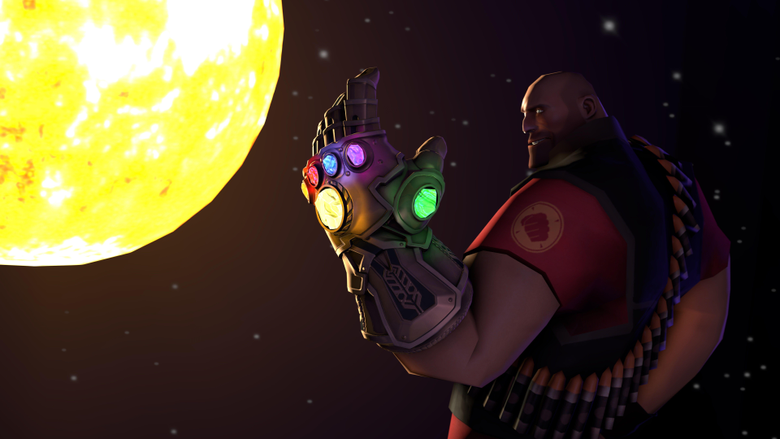 Thanos Infinity Gauntlet Fortnite Artwork HD Games 4k Wallpapers
