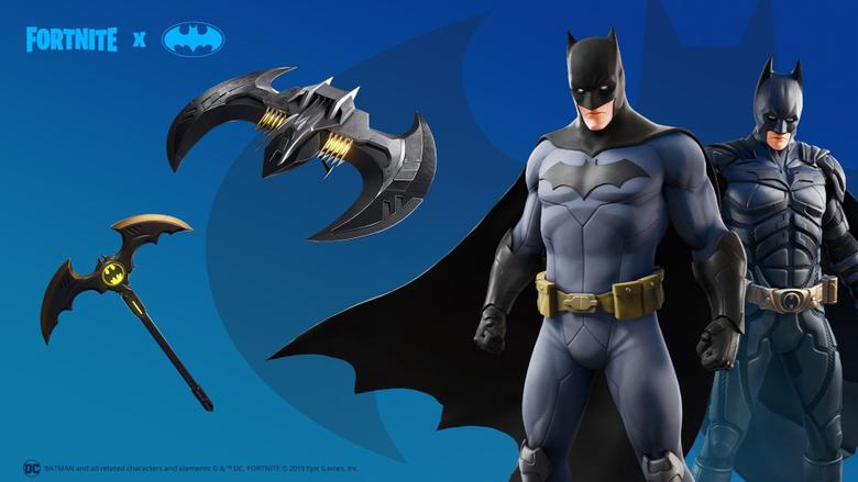 Batman Comic Book Outfit Fortnite wallpapers