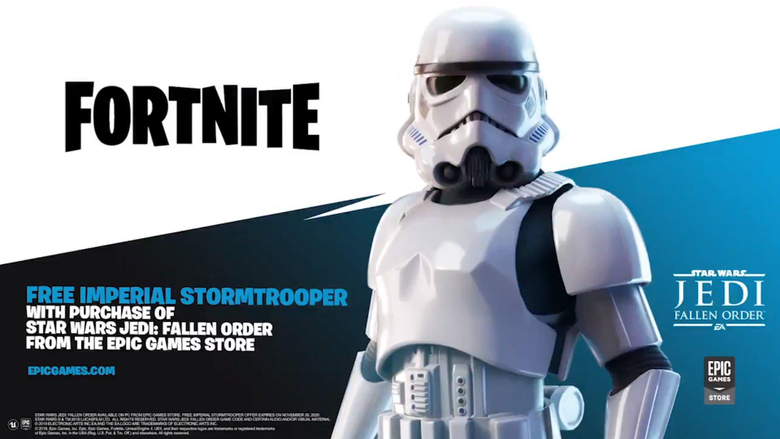 The Stormtrooper skin should be given to bots because they