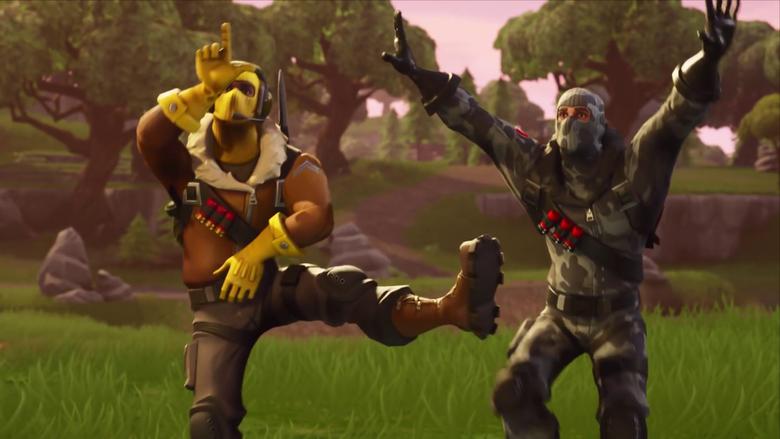 Fortnite Battle Royale Raptor Havoc Dancing Video Game