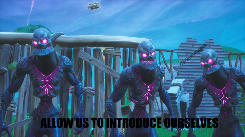 Late Game Exists Cube Monsters FortNiteBR