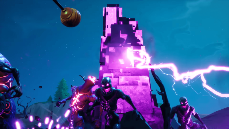 You can sneak past Cube Monsters on Fortnite Battle Royale