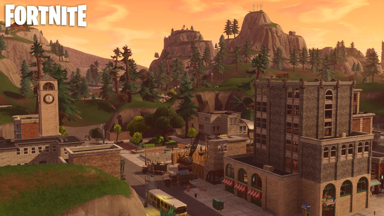 Fortnite s Tilted Towers might be destructible