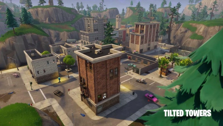 Discover Tilted Tower Fortnite