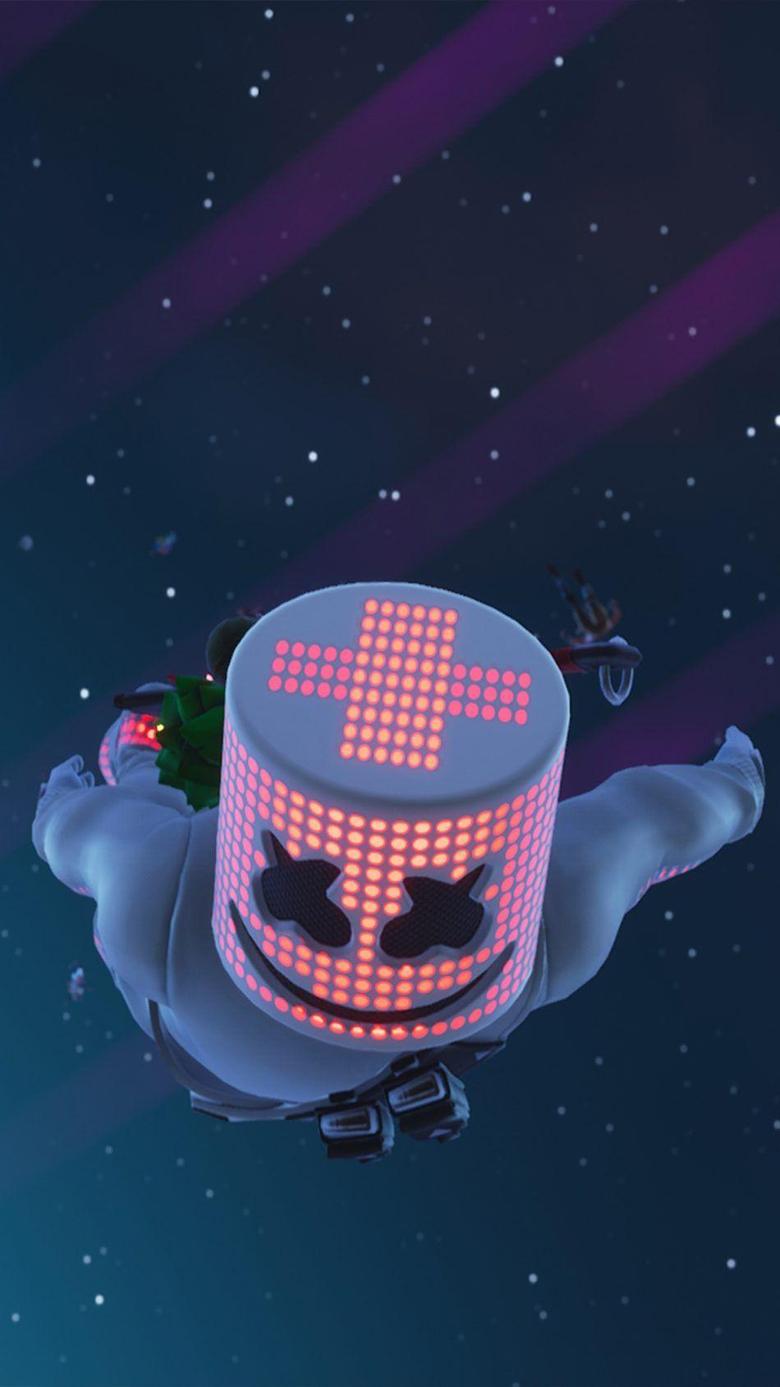 Marshmello In Air Fortnite G Mobile wallpapers Gaming