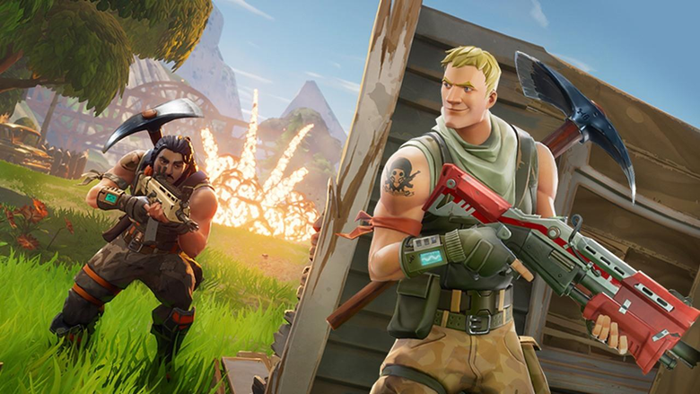Fortnite Mobile s Loading Screen Now Tells Kids to Stop Playing in Class
