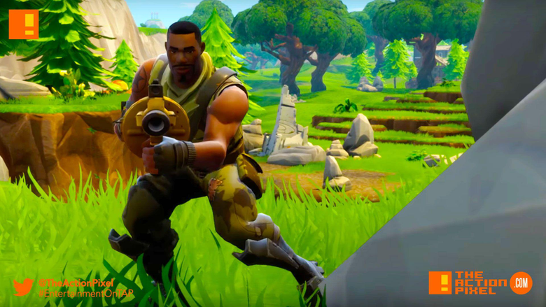 Fortnite Battle Royale lets 100 gamers battle it out on 1 map to