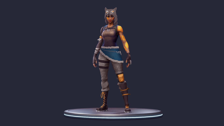Wolf Skin concept for DK made by his lady Please add epic FortNiteBR