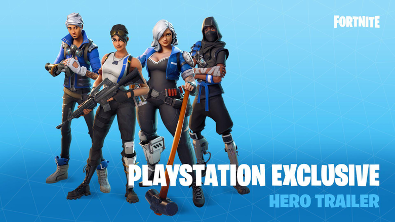 Fortnite Is Here With Exclusive PS4 Heroes