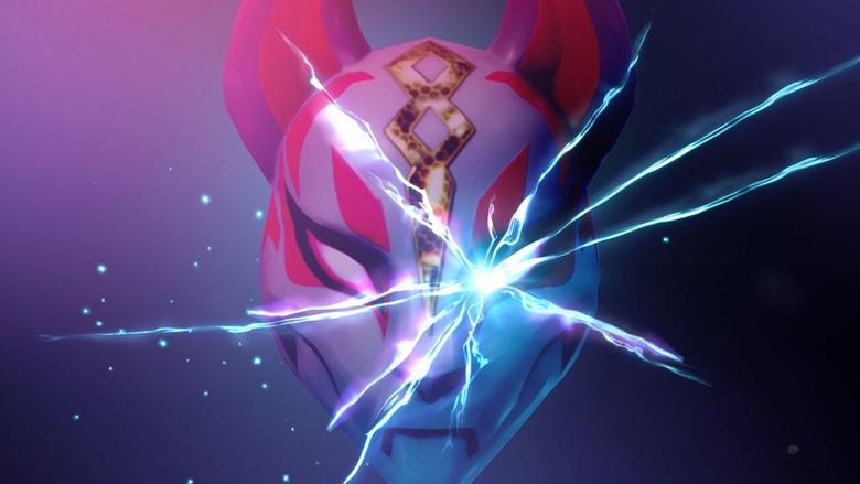 Kitsune Mask Drift Fortnite Battle Royale Wallpapers and