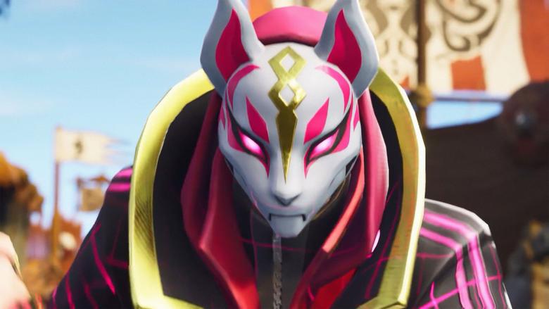 Kitsune Mask Fortnite Battle Royale Wallpapers and Stock