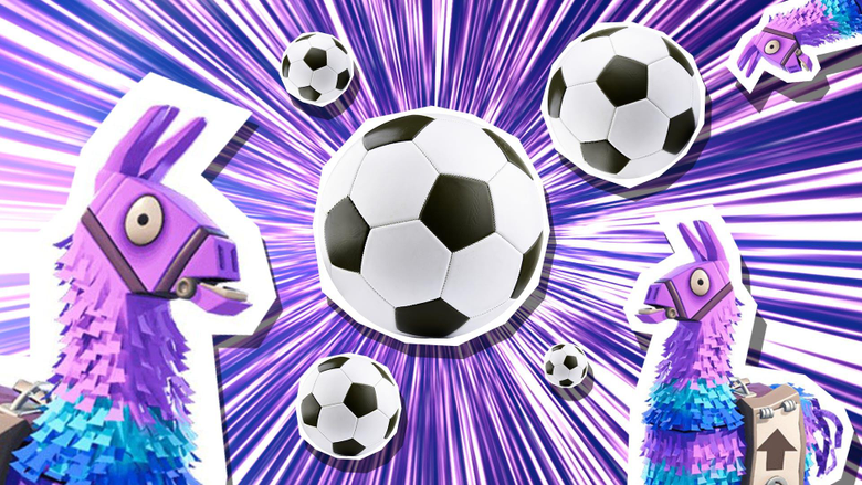 Fortnite crosses over with the world of football