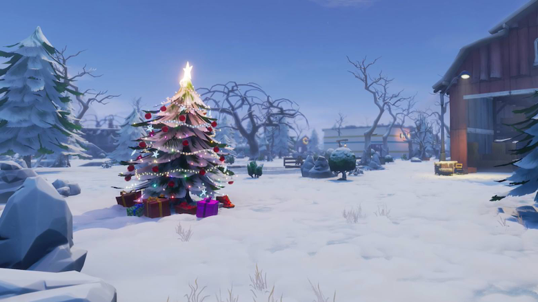 If the Fortnite map isn t snowy at christmas I m uninstalling
