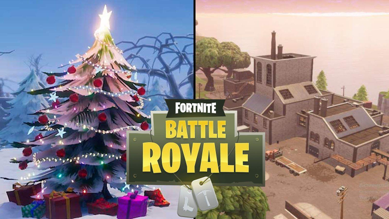 Fortnite fans think Flush Factory might get a special Christmas