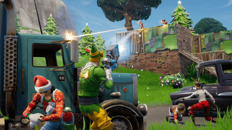 Fortnite Battle Royale gets a Battle Pass and holiday themed winter