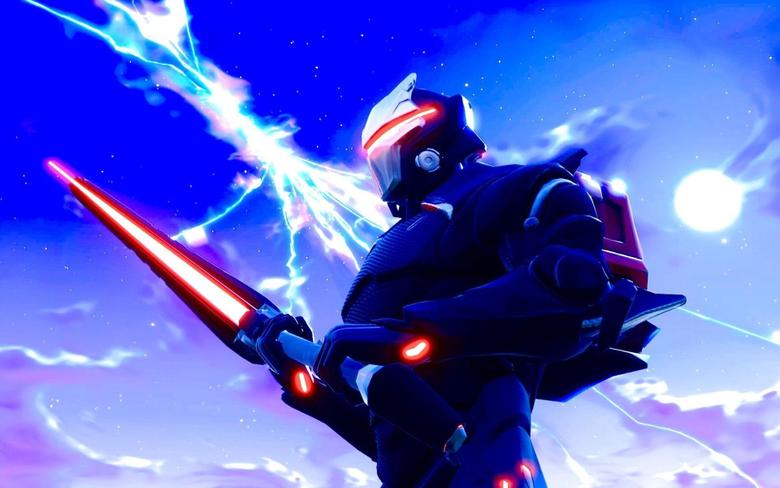 Omega Sword Warrior Fortnite