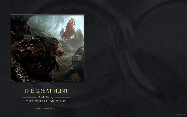 Wallpapers from The Great Hunt Ebook