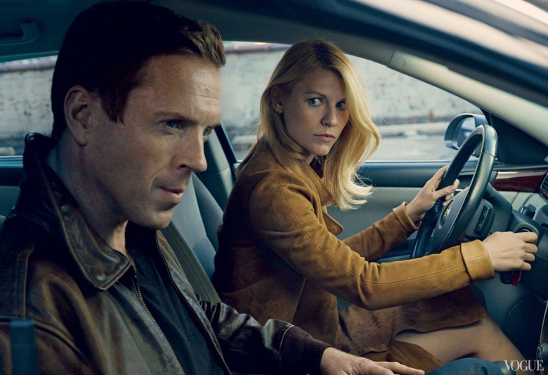 Claire Danes and Damian Lewis of Homeland Photo by Annie
