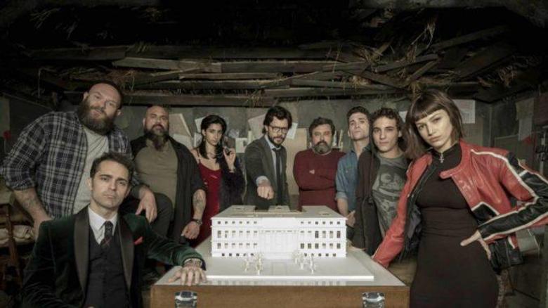 Money Heist The second season of the hit Spanish TV series La Casa de Papel