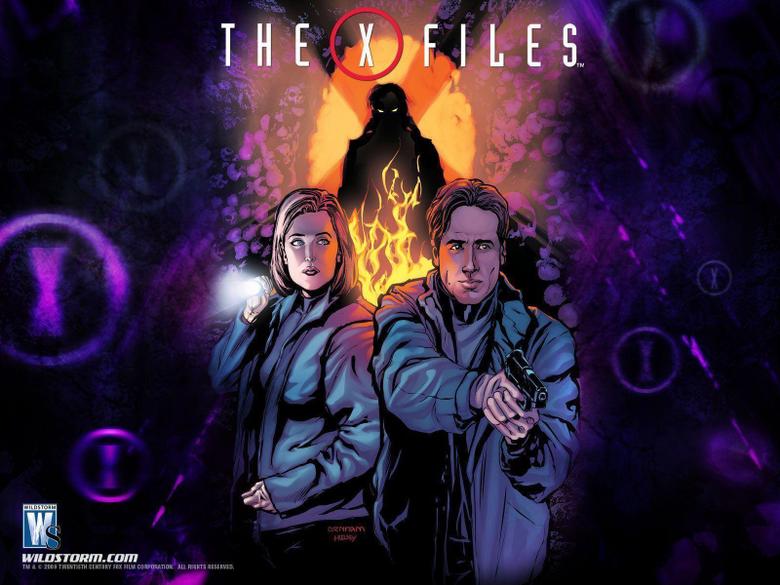 X files comics