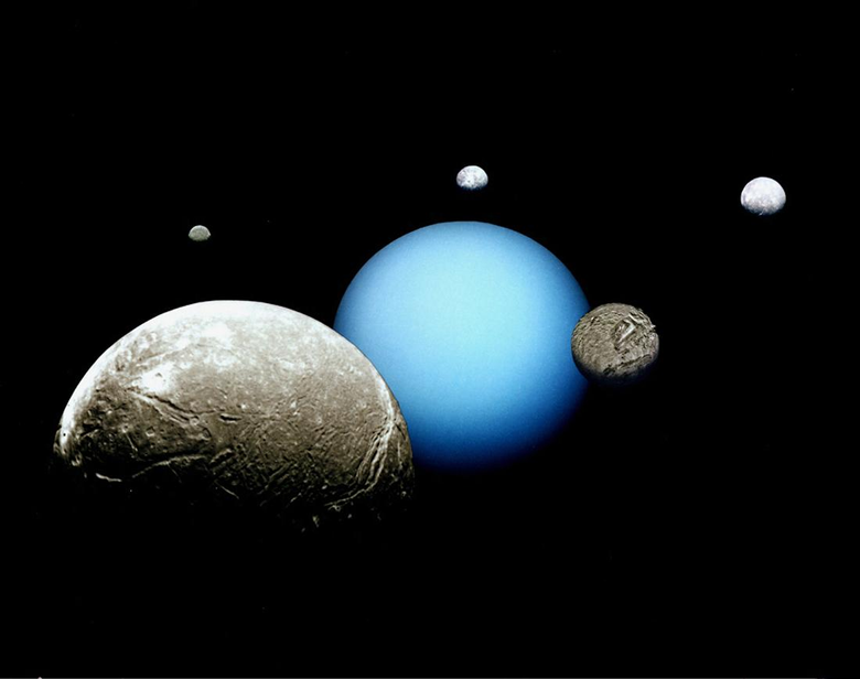 Moons of Uranus Facts About the Tilted Planet s Satellites