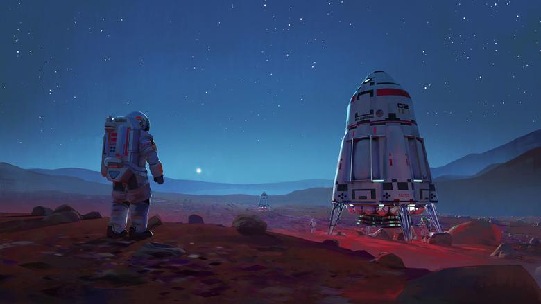 Scifi Astronaut Space Mars HD Artist 4k Wallpapers Image