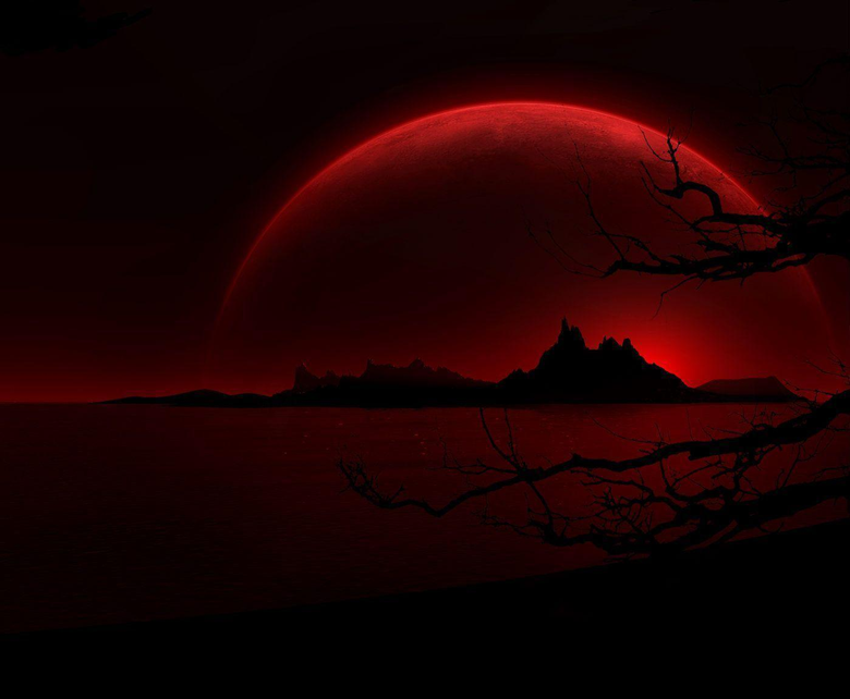Wallpapers For Blood Red Moon Wallpapers