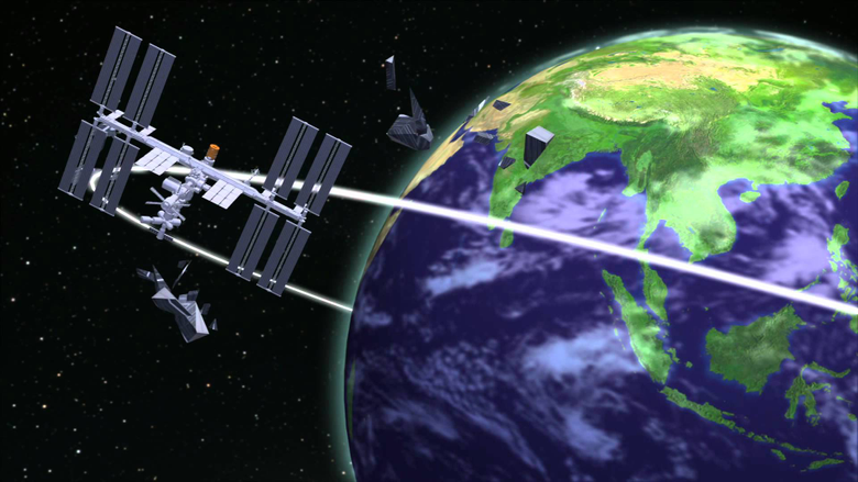 International Space Station threatened by Chinese space junk