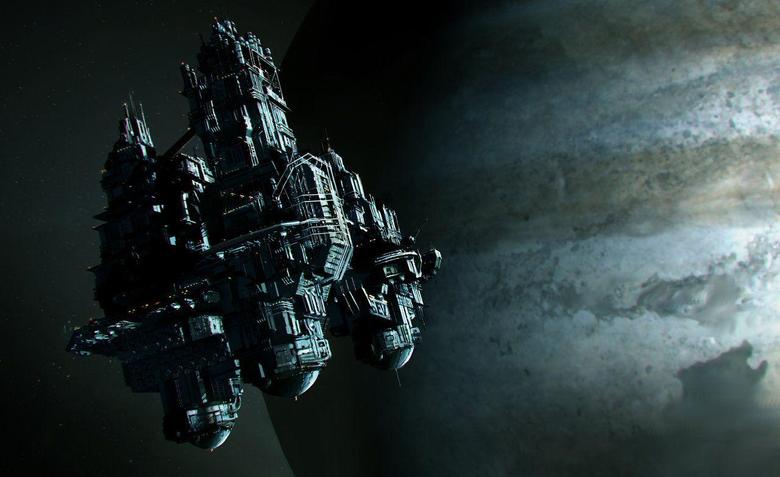 Explore Alien Space Station