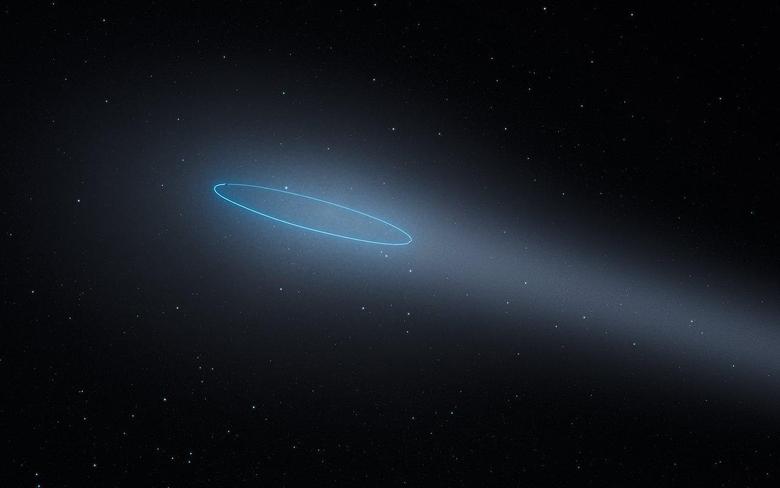 Hubble Spots Unique Object in the Main Asteroid Belt