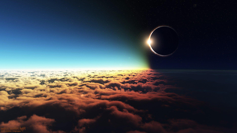 Eclipse Altitude HD Digital Universe 4k Wallpapers Image