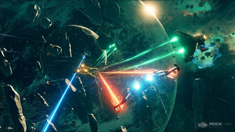 EVERSPACE space shooter futuristic action fighting spaceship 1evers