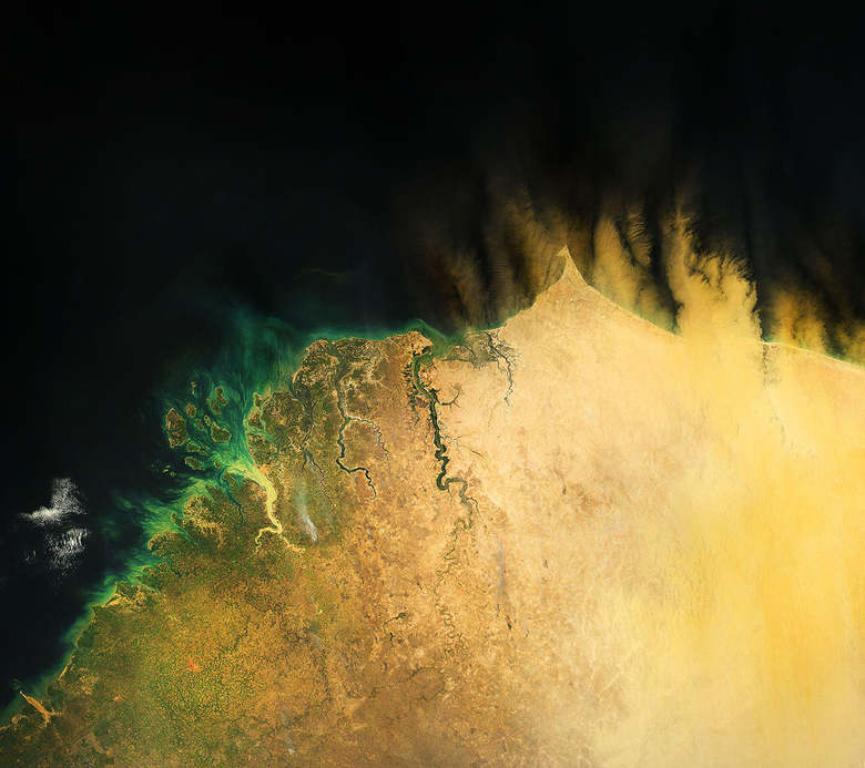 View the Earth from space with these satellite wallpapers Part I