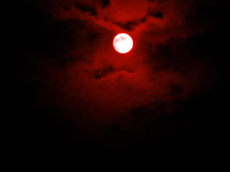 Group of Bloody Red Moon Wallpapers