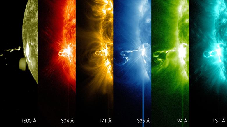 GMS NASA s SDO Provides Image of Significant Solar Flare